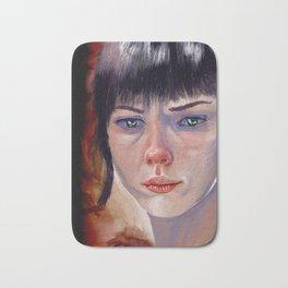 Portrait in colour Bath Mat