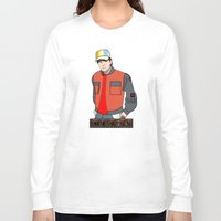 mcfly Long Sleeve T-shirts featuring Marty McFly by Pendientera
