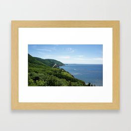 Cap Breton Framed Art Print
