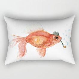 A gentleman's fish Rectangular Pillow