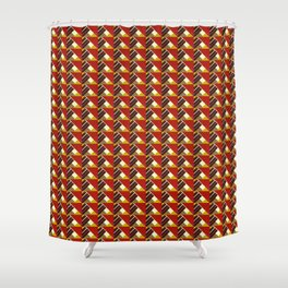 WORK 39 Shower Curtain