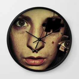 A piece of me Wall Clock