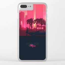 Hotline Miami XL Clear iPhone Case