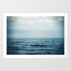 sink or swim. Art Print