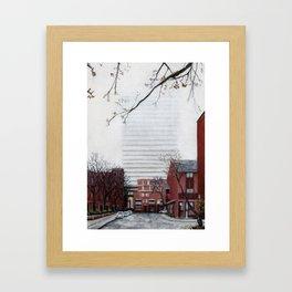 Henry Lane Terrace Framed Art Print