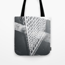 Flat Iron Building - NYC Reflection Tote Bag