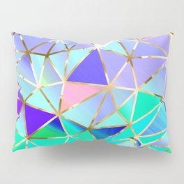 Rainbow Geometric pattern #6 Pillow Sham