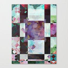 checkered past Canvas Print