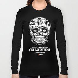White Dead Skull Long Sleeve T-shirt