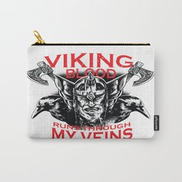 Viking blood Carry-All Pouch