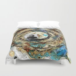 Map & Compass (The Odyssey) - BK Duvet Cover