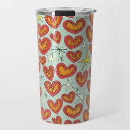 lightning hearts Travel Mug