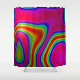 Heat Signature Shower Curtain
