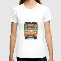 truck T-shirts featuring TRUCK ART by urvi