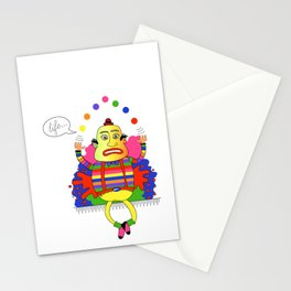Life is a juggle! Stationery Cards