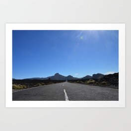 A kind of Route 66. Art Print