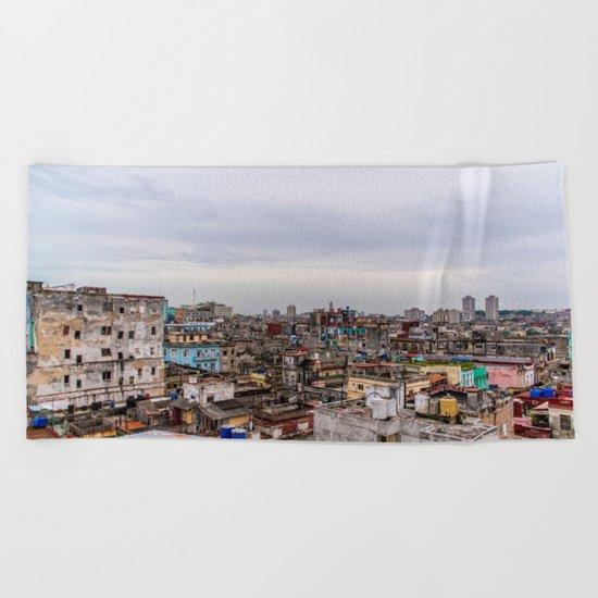 Ciudad de La Habana Beach Towel