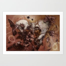 Infertile Art Print
