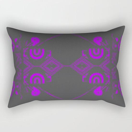 Elec-Tron A Rectangular Pillow