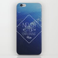 tote bag iPhone & iPod Skins featuring tote by Jamie de Leeuw