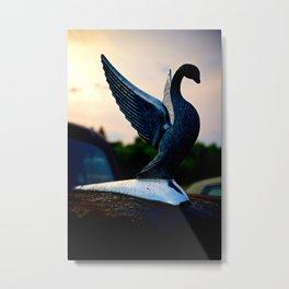 Packard Swan Metal Print