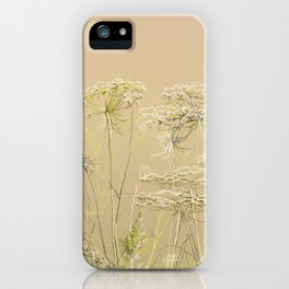 Wild flowers and weeds 2 iPhone Case