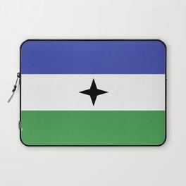 Bubi Bantu people ethnic flag cameroon africa Laptop Sleeve