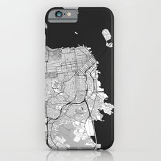 San Francisco Map Gray Slim Case iPhone 6s