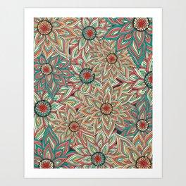 Floral Epoque Art Print