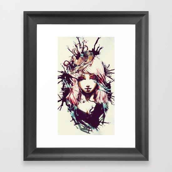 Le Fille  Framed Art Print