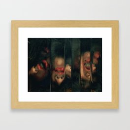 Mix of Emotions Framed Art Print