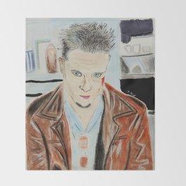 Brad Pitt-Tyler Durden Throw Blanket