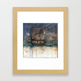 10x10 Series: 1929 Framed Art Print