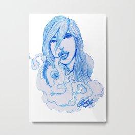 Sueños de Humo. Metal Print