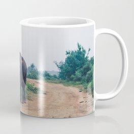 Elephant in Udawalawe National Park, Sri Lanka Coffee Mug