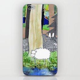 lost sheep iPhone Skin