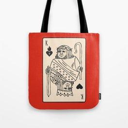 Jesus King of Sacred Hearts / King of Kings Tote Bag