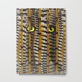 Jungle Eyes Metal Print