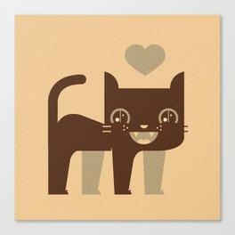 Kittie  Canvas Print