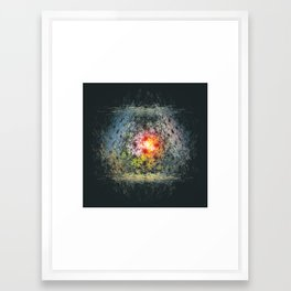 The end of the tunnel Framed Art Print