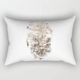 Wolf Mist Rectangular Pillow