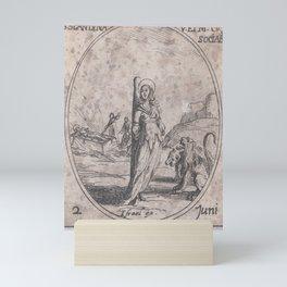 Ste. Blandine et Ses Compagnes (St. Blandina and Her Companions), June 2nd, from Les Images De Tous Mini Art Print