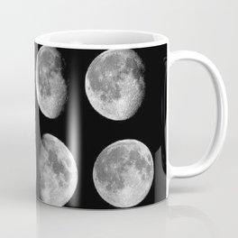 Phases (black) Coffee Mug