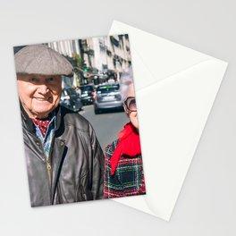 Parisian Mugshots - The Non-Couple (Gueules de Parisiens) Stationery Cards