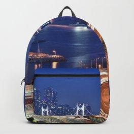 Gwangandaegyo Bridge (Busan, South Korea) Backpack