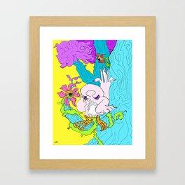 Eyeflowers Framed Art Print