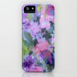Lavender Blue iPhone Case