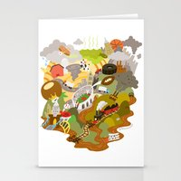 ohio Stationery Cards featuring Ohio Love! by Andy Stattmiller