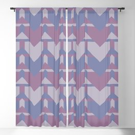 Violet Directions #society6 #violet #pattern Blackout Curtain