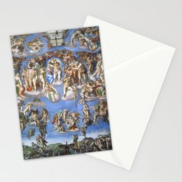 "Michelangelo ""Last Judgment"" Stationery Cards"